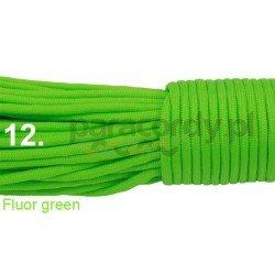 Paracord 550 linka kolor fluor green