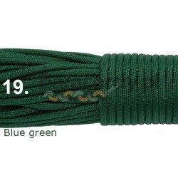 Paracord 550 linka kolor blue green