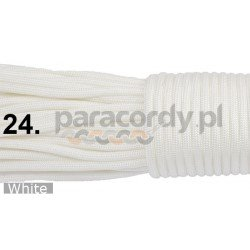 Paracord 550 linka kolor white