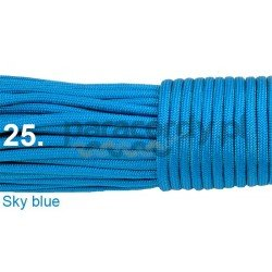 Paracord 550 linka kolor sky blue