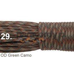 Paracord 550 linka kolor OD green camo