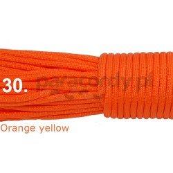 Paracord 550 linka kolor orange yellow