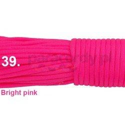 Paracord 550 linka kolor bright pink