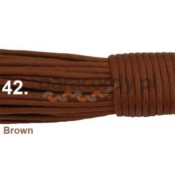 Paracord 550 linka kolor brown