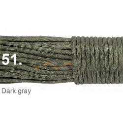 Paracord 550 linka kolor light gray