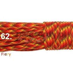 Paracord 550 linka kolor fiery