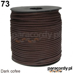 Paracord 220 linka kolor dark cofee