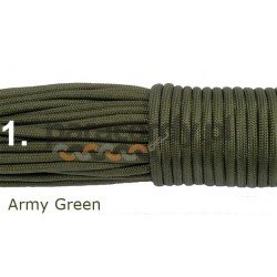 Paracord 550 kolor army green