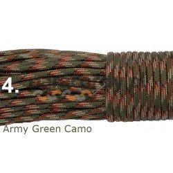 Paracord army green camo