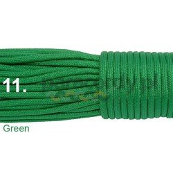 Paracord 550 linka kolor green