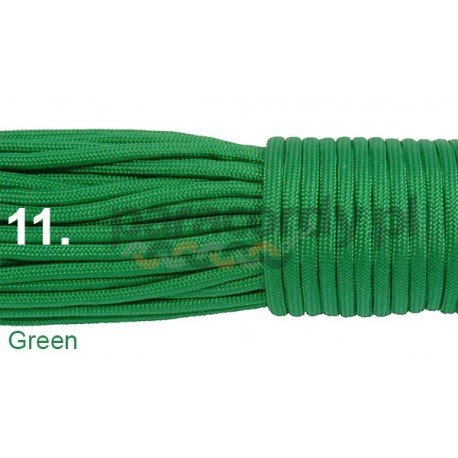 Paracord 550 linka kolor green