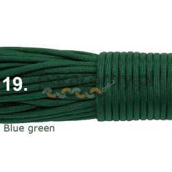 Paracord 550 linka kolor blue green