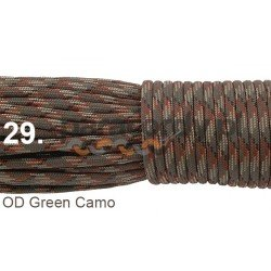 Paracord 550 linka kolor OD green camo