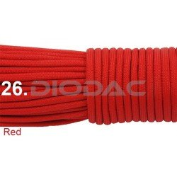 Paracord 550 linka kolor red