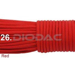 Paracord 550 linka kolor red