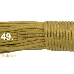Paracord 550 linka kolor golden
