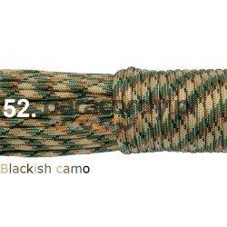 Paracord 550 linka kolor blackish camo