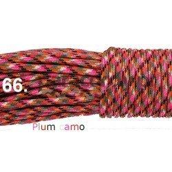 Paracord 550 linka kolor plum camo