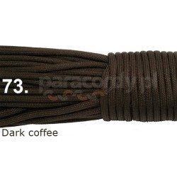 Paracord 550 linka kolor dark coffe