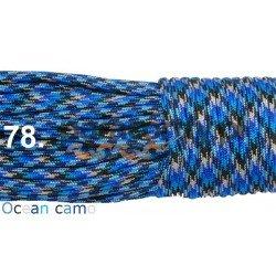Paracord 550 linka kolor ocean camo