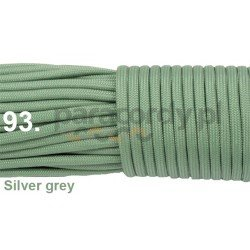 Paracord 550 linka kolor silver grey
