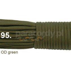 Paracord 550 linka kolor OD green