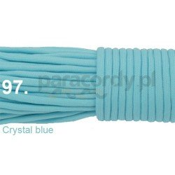 Paracord 550 linka kolor crystal blue