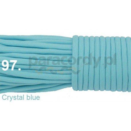 Paracord 550 linka kolor crystal blue