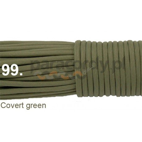 Paracord 550 linka kolor covert green