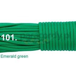 Paracord 550 linka kolor emerald green