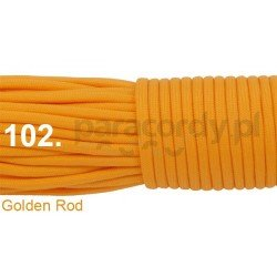 Paracord 550 linka kolor golden rod