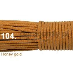 Paracord 550 linka kolor honey gold
