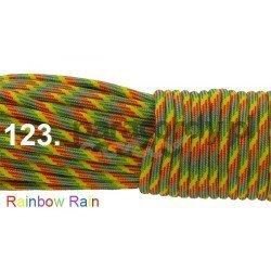 Paracord 550 linka kolor rainbow rain