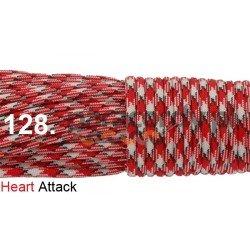 Paracord 550 linka kolor heart attack