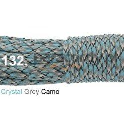 Paracord 550 linka kolor crystal grey camo