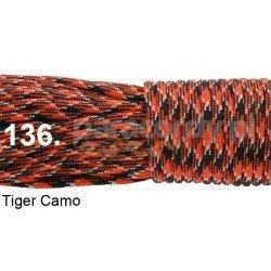 Paracord 550 linka kolor tiger camo