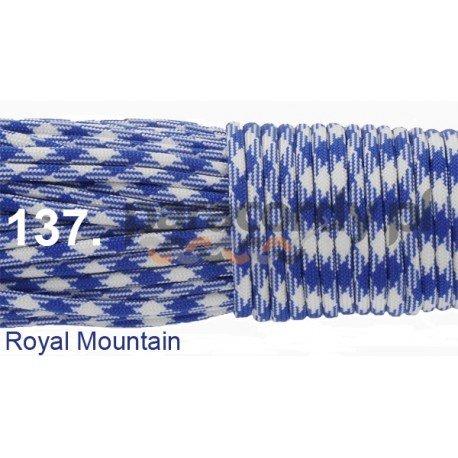 Paracord 550 linka kolor royal mountain