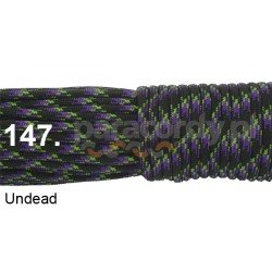 Paracord 550 linka kolor undead