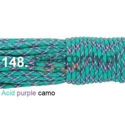 Paracord 550 linka kolor acid purple camo