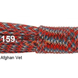 Paracord 550 linka afghan vet