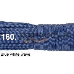 Paracord 550 linka kolor blue white wave