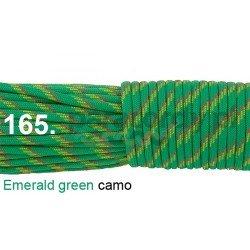 Paracord 550 linka kolor emerald green acmo