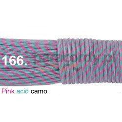 Paracord 550 linka kolor pink acid camo