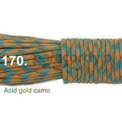 Paracord 550 linka kolor acid gold camo
