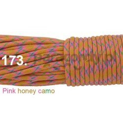 Paracord 550 linka kolor pink honey camo