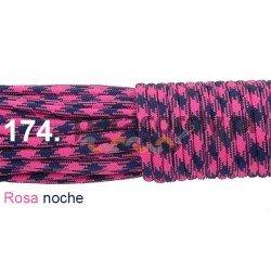 Paracord 550 linka kolor rosa noche