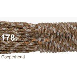 Paracord 550 linka kolor cooperhead
