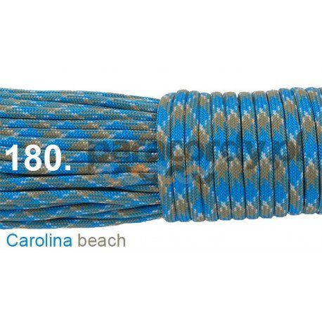 Paracord 550 linka kolor carolina beach