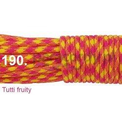 Paracord 550 linka kolor tutti fruity