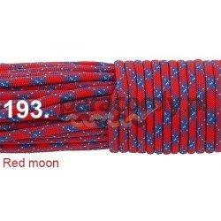 Paracord 550 linka kolor red moon